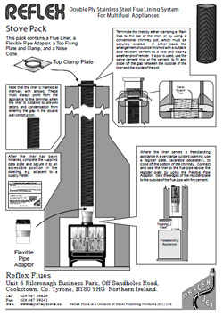 Stove Relining Pack Diagram
