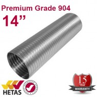 "14"" 904 Flexible Flue Liner For Stoves"