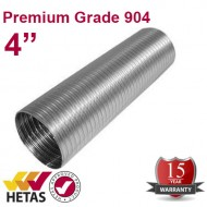 "4"" 904 Flexible Flue Liner For Stoves"