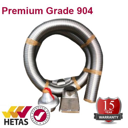 9m X 7 Quot 904 Premium Grade Chimney Relining Pack
