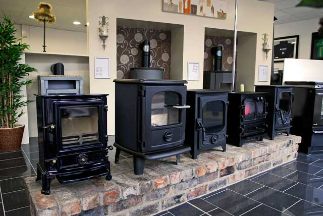 Country Stoves Showroom in Cookstown, Country Tyrone, Northern Ireland